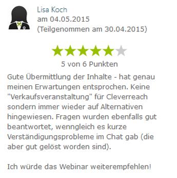 Koch_Mitgliederwebinar Cleverreach
